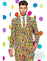 OppoSuits Trajes con Divertidos Colores y Estampados - Traje ... 56471115866