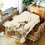 Kreative Tischdecke Hause Gedruckt polyester wasserdicht Nordic Chinesischen couchtisch tischdecke dekoration TV schrank schuhschrank tuch moderne tischdecke (Größe: B (150 * 300 cm)) Tischdecke zum E