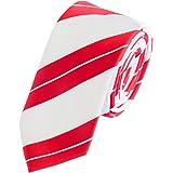 Fabio Farini - Elegante cravatta rayé da uomo in 6cm & 8cm di larghezza in diversi colori per ogni occasione come matrimonio,