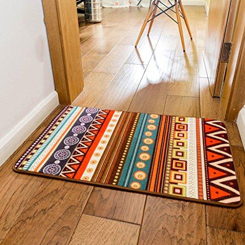 Moda moderna vento nazionale tappeto geometrico davanti ai tappeti d'entrata di casa porta zerbino tappetini antiscivolo può essere lavato
