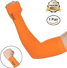 Shinymod raffreddamento maniche sole Protezione UV Sunblock tatuaggio braccio di sport ciclismo Golf corsa pesca guidare maniche lunghe guanti unisex multi colore 1paio/3paia