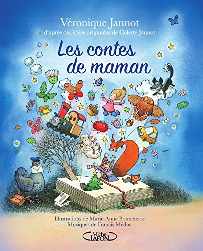 Les contes de maman + CD offert à partir de 3 ans par Veronique Jannot