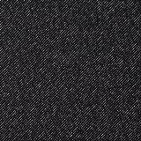 MIRABLAU DESIGN Stoffverkauf Wolle Seide schwarz weiß (1-141M), 0,5m