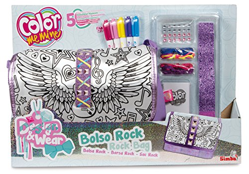 Simba - 86986 a - Color Me Mine Design e Wear sacchetto Rock