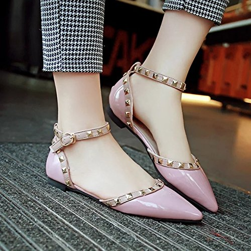 XY&GK Donna Sandali estivi piatto piatto con donne sandali Scarpe donna Pink