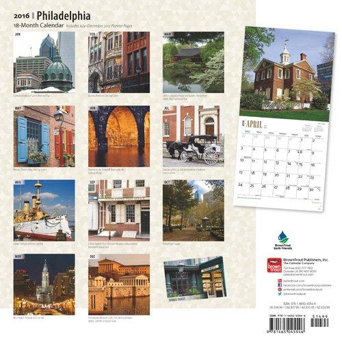 Philadelphia 2016 Calendar
