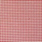 Gardinenstoff Stoff Dekostoff Meterware kariert rot weiß