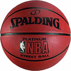 Spalding nba platinum street basketball sports outdoors - Spalding basketball images ...