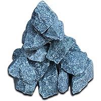 Wakects Sauna Heating Stones, 6-8 Inches, Heated Stones for Garden Sauna 15 kg