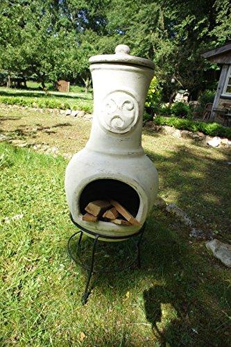 Antikas Terrassenofen Aus Ton Kamin Fur Die Terrasse Lehmofen