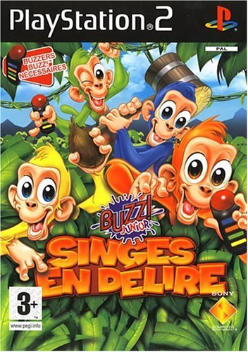 Buzz Junior singes en delire - Playstation 2 - FR