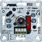 PEHA by Honeywell Unterputz Dimmer Geeignet für Leuchtmittel: Halogenlampe, LED-Lampe, Glühlampe D