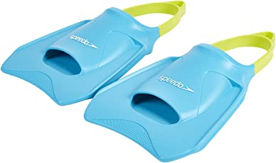 Speedo Biofuse Competitive Fitness Fin, X-Small, Pack of 2 (Blue/Green)