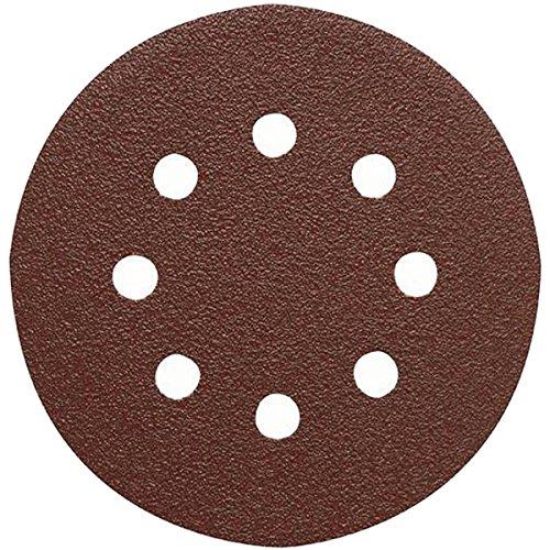 Ironside 240030 Grit 120 Velcro Adhesive Discs - Multi-Colour (5-Piece) Test