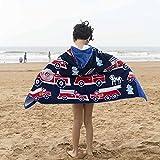 Best Camiones Boy - Niños toalla de playa azul camión de baño Review