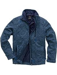 First B Unisex Fleecejacke Gefütterte Warme Damen Herren Jacke für Herbst  Frühling Winter – Windjacke als Übergangsjacke aus Fleece… e4f1b0cdd2