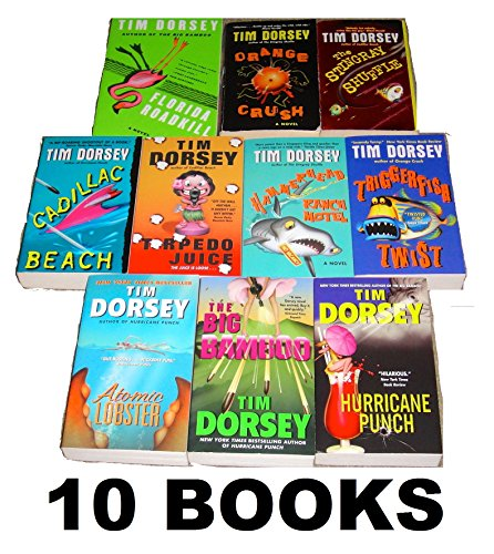 tim-dorsey-10-book-set-triggerfish-twist-florida-roadkill-hammerhead-ranch-motel-the-stingray-shuffl