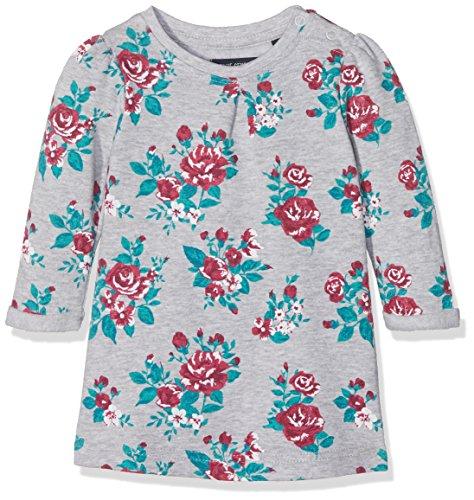 Blue Seven Baby Girls' Mint Mädchen Sweatkleid MIT Aufgedruckten Blumen Dress