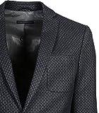Drykorn Herren Anzug Davis mit Muster dunkelblau 30 Navy 52 Vergleich