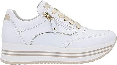 Nero Giardini Sneakers Bianco Platform Scarpe Donna 0560 DryGo E010560D