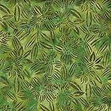 Fabric Freedom Green Apple-Design 100% Baumwolle, Batik