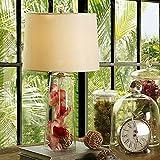 Glas Tuch decken Lampen 58 * 32 CM, Dimmer können nur verwendet, Glühlampe wechseln.