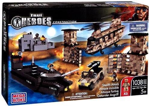 True Heroes Mega Bloks Set Stealth Attack
