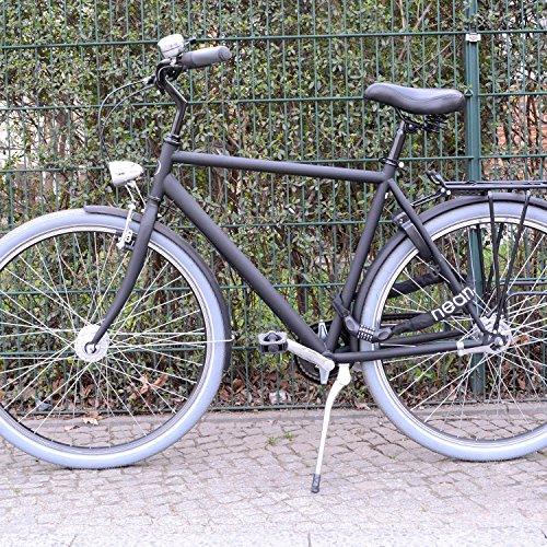 nean Fahrrad-Ketten-Schloss, Zahlen-Code-Kombination-Schloss, Stahlkettenglieder, 6 mm x 900 mm - 4