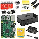 CanaKit Raspberry Pi 3 Complete Starter Kit - UK Edition (32 GB, Black)