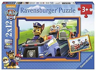 Ravensburger - Puzzle 2 x 12, Paw Patrol B (07591) de Ravensburger