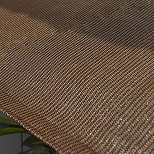 Zeltplanen CJC Markisen Schattengeflecht Schatten Tuch Baldachin Sonnenschutzzelte Autoabdeckung Hinterhof Schatten Segel Gewächshaus Patio Hof (Color : Brown, Size : 3x4m) - Wachsen Zelt 3x4