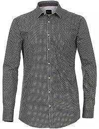 Venti Herren Businesshemd 162542400 Tailliert 100% Baumwolle - Slim Fit