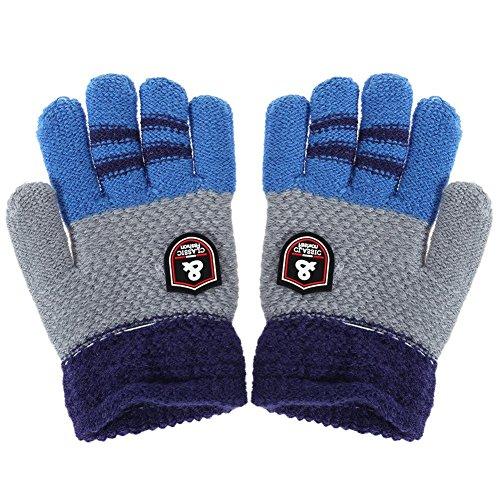 Domybest Handschuhe Winter Baby Warme Bauwolle Kinder Handschuhe Gestrickte Stretch Handschuhe Hände Wärmer