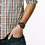Fossil Herren Chronograph Quarz Uhr mit Leder Armband FS4656 - 5