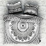 Mandala Tröster Psychedelic Cover Doppel Bettwäsche werfen indische Bettbezug & Kissen Fall böhmischen werfen