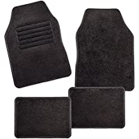 Carfashion Universal Car Foot Mats Velour