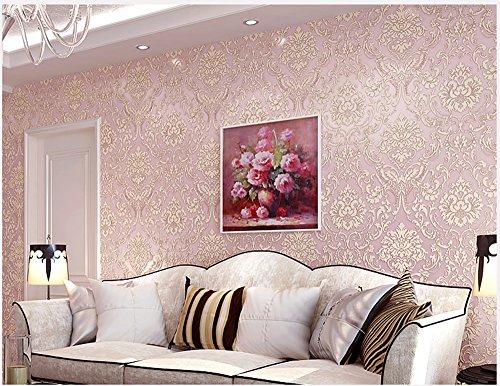 Abziehen und Aufkleben Damast Tapete nicht-gewebte Kontakt Papier Regalen für Küche Schubladen Schränke Regale Theken Wand Aufkleber...