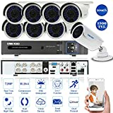 Die besten Kaufen Überwachungskameras Systeme - OWSOO CCTV Überwachung DVR Security System 8CH Kanal Bewertungen