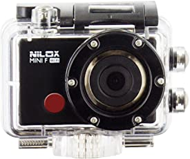 Nilox Mini F Wi-Fi Action Cam Full HD, Nero
