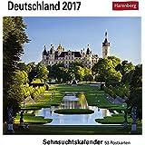 Deutschland - Kalender 2017: Sehnsuchtskalender, 53 Postkarten