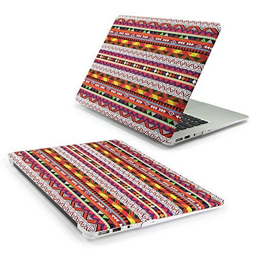 Urcover 360 Grad Crystal Hard Case kompatibel mit MacBook Retina 12 Zoll | Ultra Slim Abstrakt Design