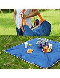 Foison Beach Mat Lightweight Travel Bag Picnic Bag/Mat Waterproof Carpet 100% Waterproof,Easy To Clean Perfect...