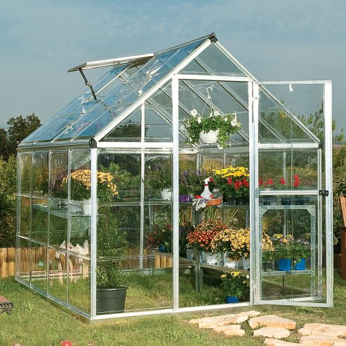 palram-applications-harmony-silver-aluminum-6x8-greenhouse-polycarbonate-crystal-clear-glazing-with-