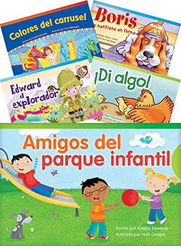 Literary Text Grade 1 Readers Spanish Set 2 10-Book Set (Fiction Readers) (Teacher Created Materials Library) por Teacher Created Materials