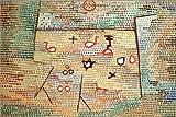 Posterlounge Holzbild 90 x 60 cm: Spielzeug von Paul Klee/akg-Images