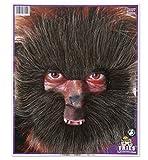 Barba Hombre Lobo marrón Halloween máscara Wolf Pelo con Cinta de Goma Horror Zombie Bruja...