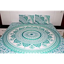 King size india Mandala funda nórdica cubierta del edredón del lecho de Bohemia reversible