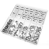 Boîte assortiments de graisseurs Raccords de Graisse M6 / M8 / M10 à 45 ° / 90 ° 115Pcs