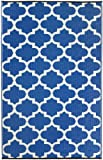 Tangeri -Tappeto Regatta Blu e Bianco (120cm x 180cm)