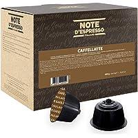 Note D'Espresso, Caffelatte, Capsule Compatibili Soltanto con sistema NESCAFE* DOLCE GUSTO*, 48 caps